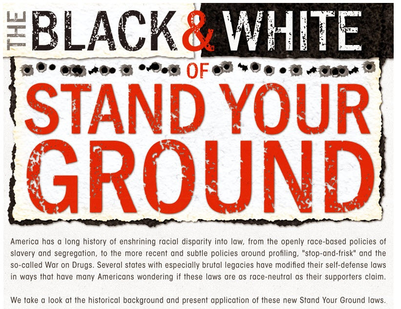 The Black_White of Stand Your Ground