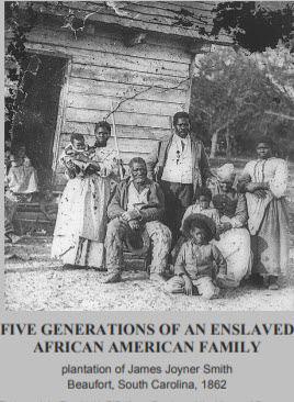 Five Generations of Enslaved Family