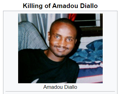killing ofAmadou Diallo